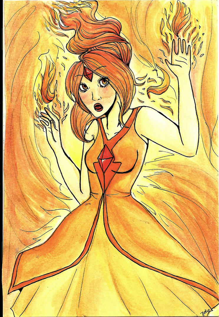 Flame Princess by Jokolate