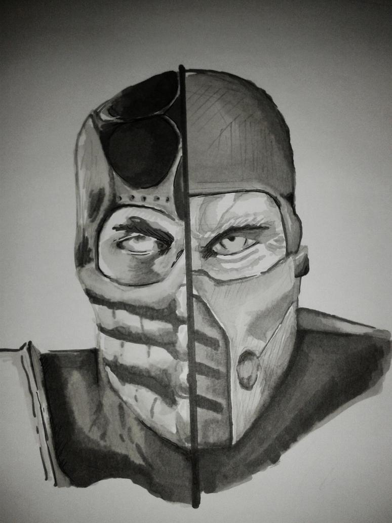 Scorpion vs SubZero by Shadow-Backstabber on DeviantArt