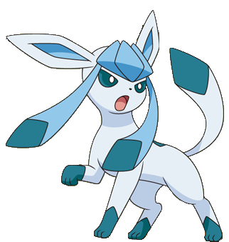 Glaceon by VaporeonPlaysGaming