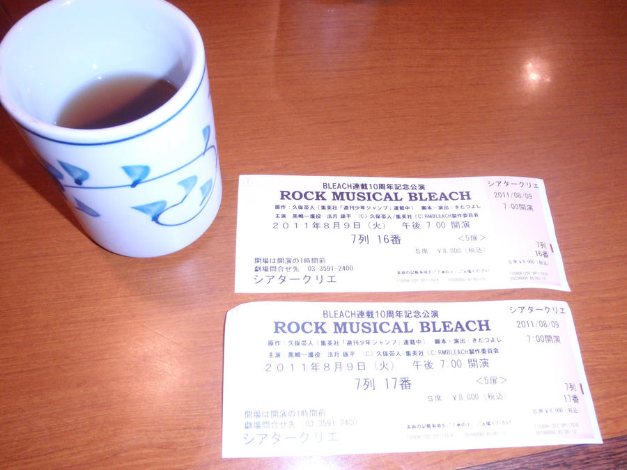 Tea and Tickets by Djedra
