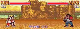 MOTM Ken vs Mike aka Balrog - Street Fighter 1 by Quasi-Tick