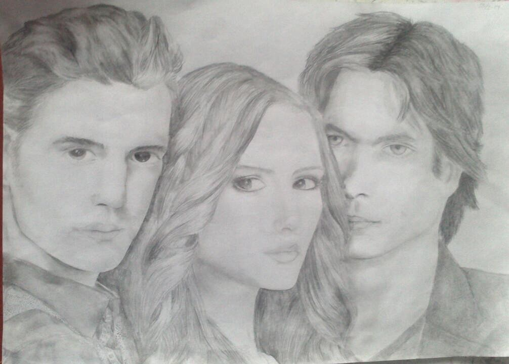 The vampire diaries by sirifintland