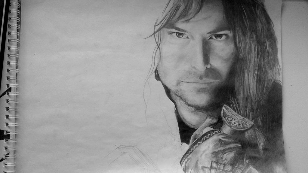 Kili (the hobbit), traditional by sirifintland