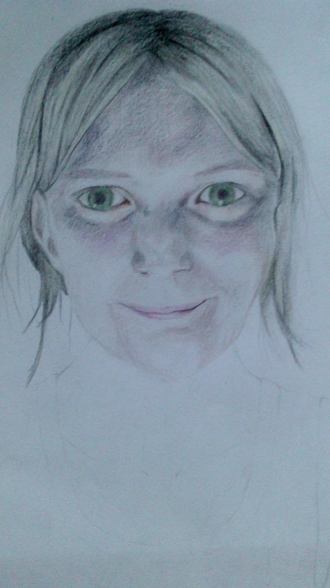 Self portrait by sirifintland