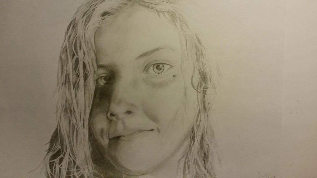 A friend, portrait by sirifintland