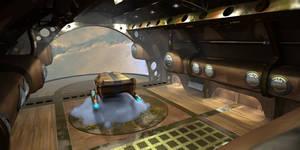 Steampumk Enterprise - Shuttle Bay WIP 2