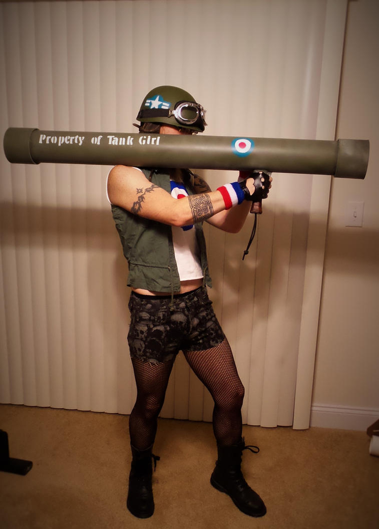 Tank Girl costume. by alexkhaine