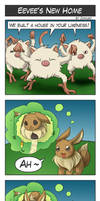 Pokemon4koma:Eevee's New Home