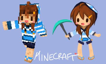 Minecraft Custom Player Skin by jamuko