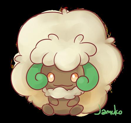 pokemon_bw_doodle___whimsicott_by_jamuko