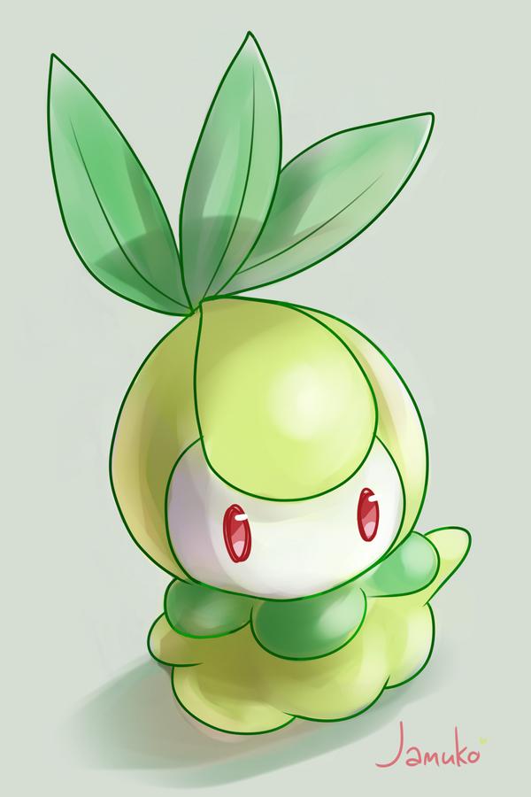 FoxFireAlchemist's Character Progress Sheet Pokemon_bw_doodle___petilil_by_jamuko-d3cn6nt