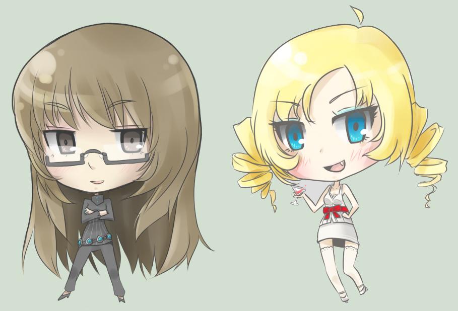 Chibis: Catherine + Katherine by jamuko
