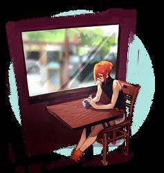 [ M - 005] hipster cafe