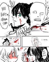 Takechi being badass to save Shiena