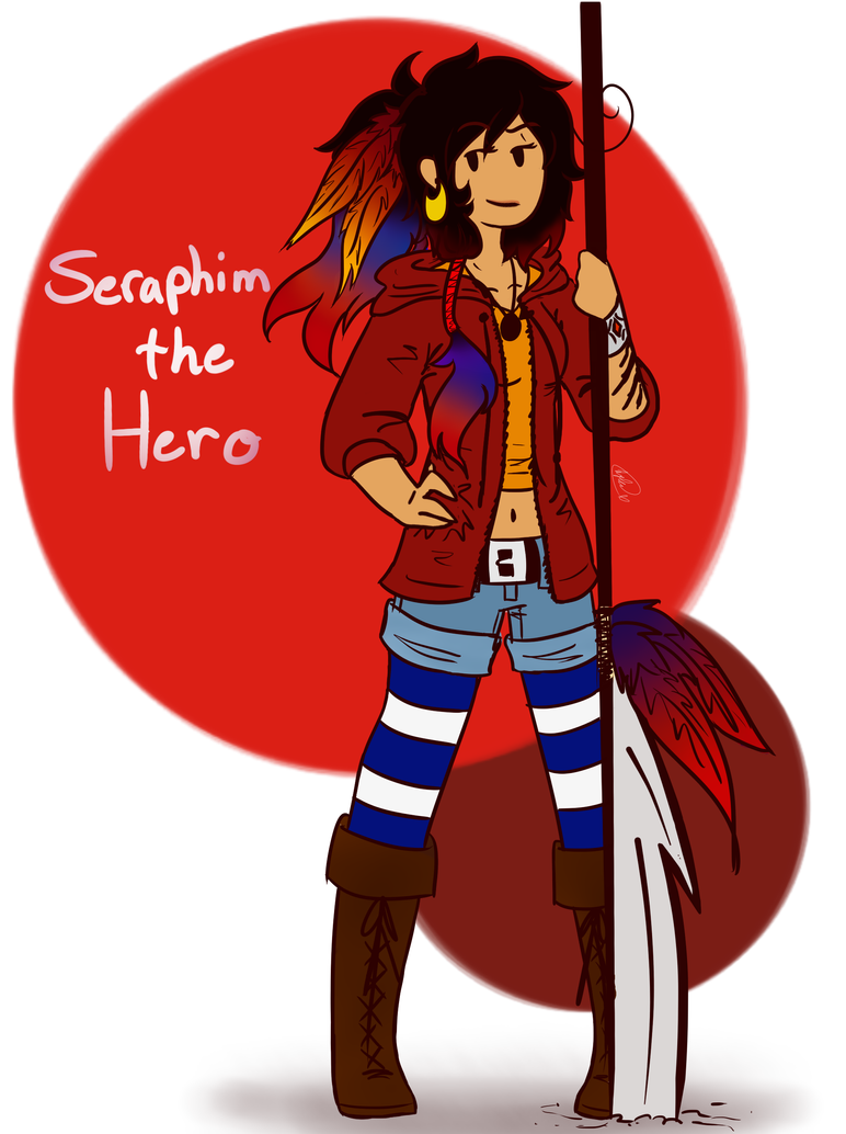 Ask Seraphim the Hero~ ((REVAMPED!!)) by Ask-TheDrakon