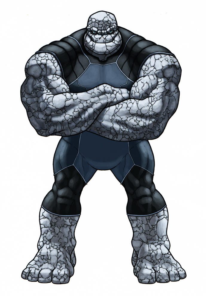 Thing Redesign by monstrous64