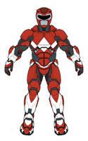 Full Power Ranger Armor by monstrous64