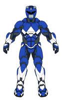 Blue Ranger Armor by monstrous64