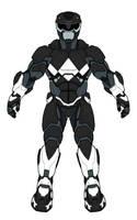 Black Ranger Armor by monstrous64