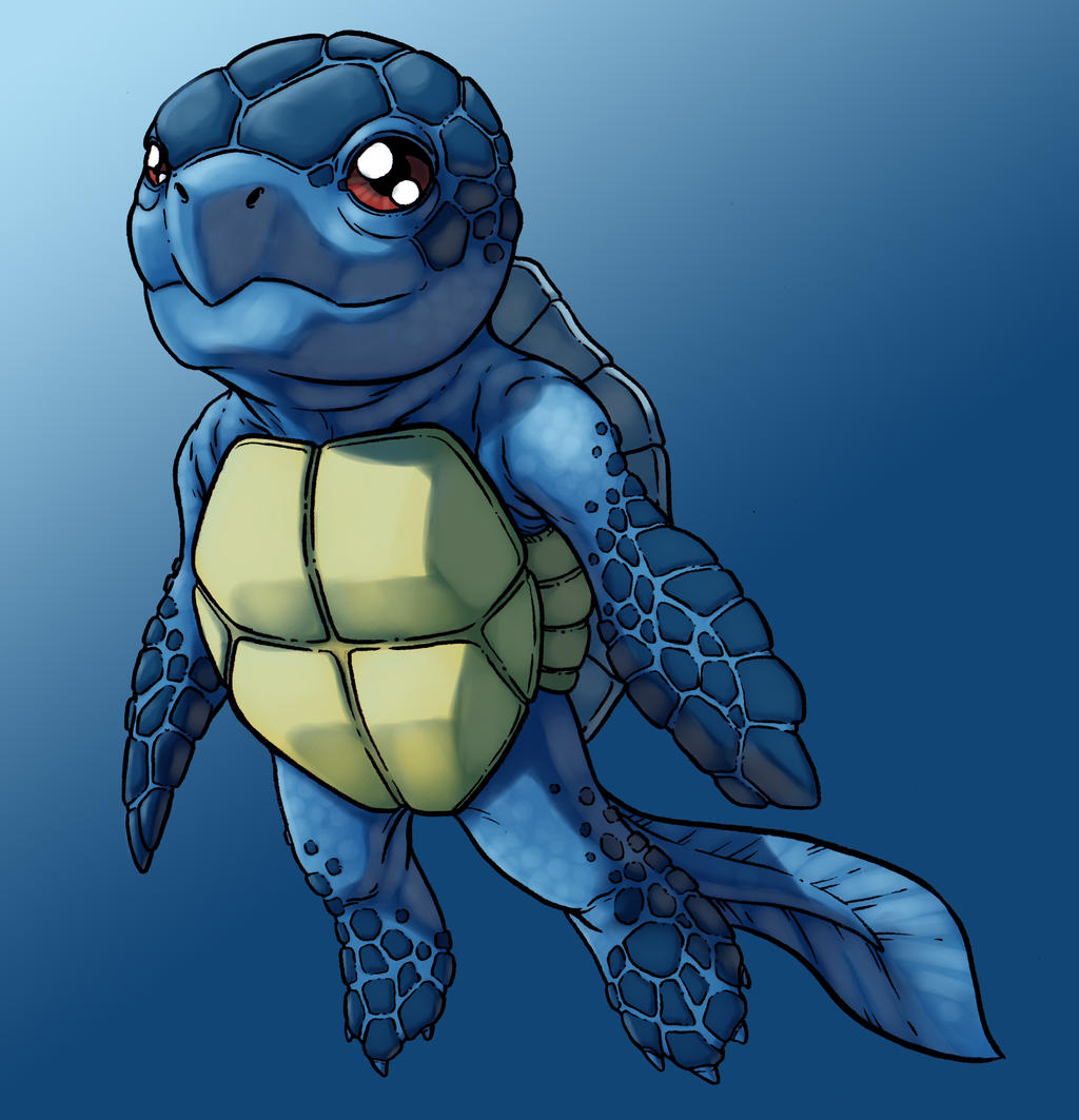 Squirtle by monstrous64 on DeviantArt