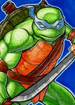 Leonardo Sketch Card