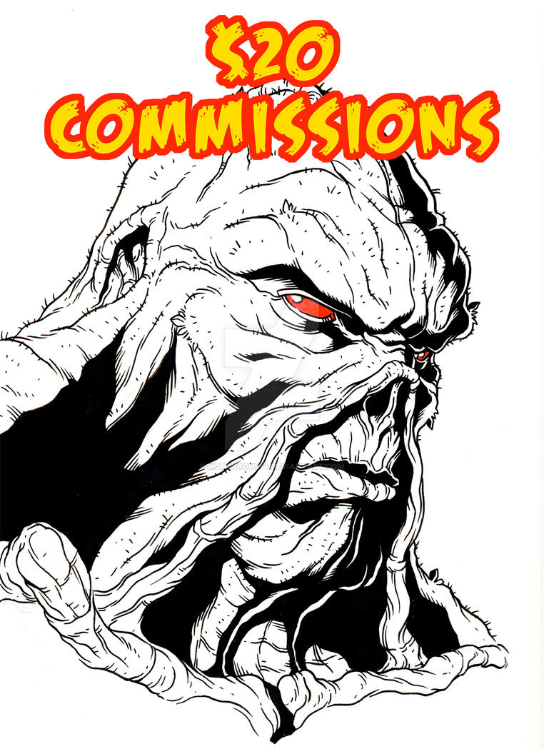 Swamp Thing Commission by monstrous64