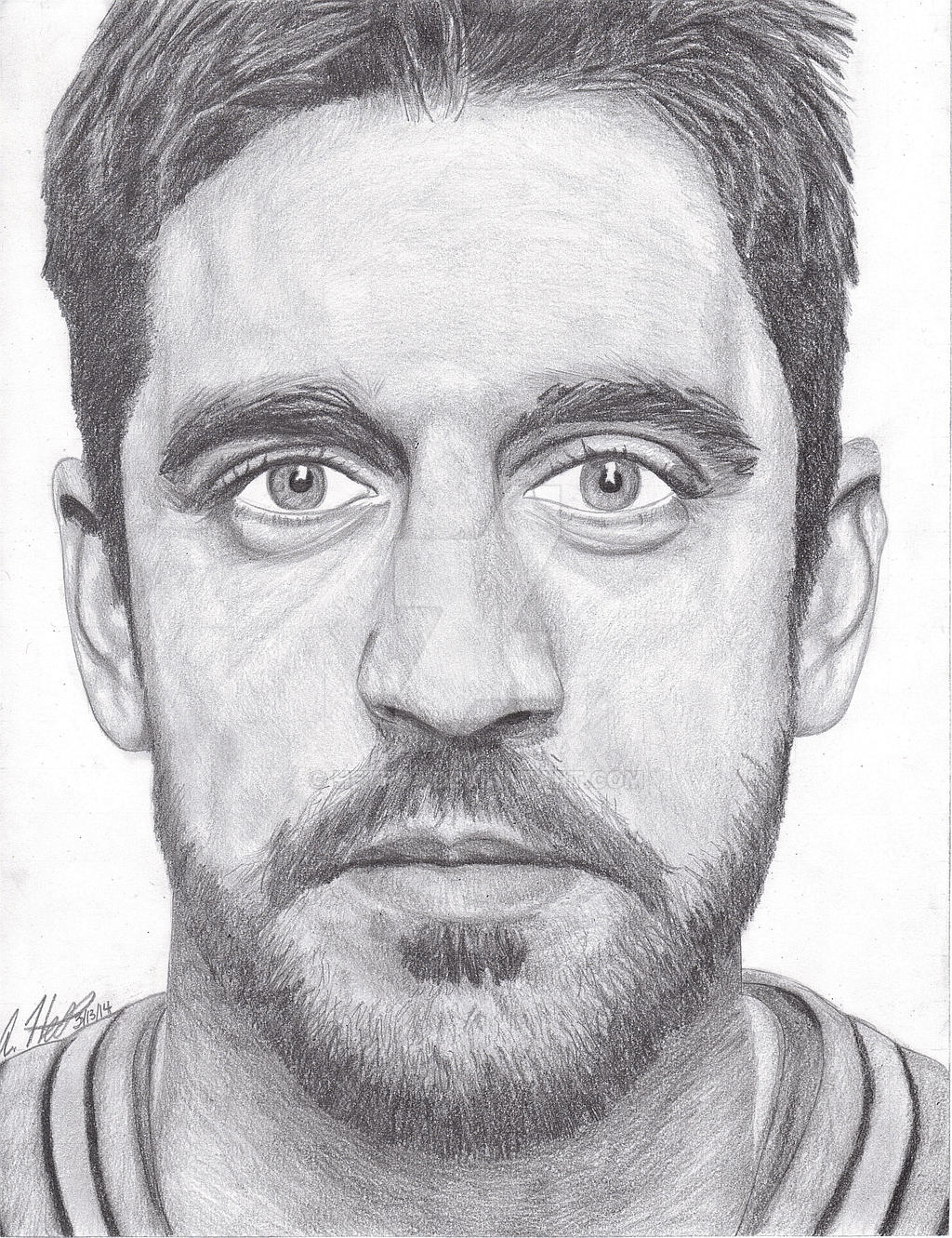 aaron_rodgers_drawing_by_hetro4-d7a6ns5.