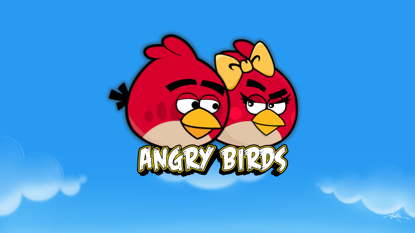angrybirds diy wallpaperkience on deviantart