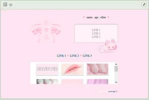 sweetheart | f2u custom box code by baekmii
