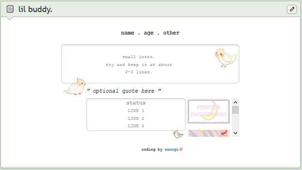 birdie | f2u custom box code