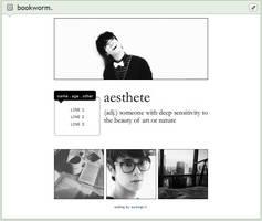 aesthetic | f2u custom box code by baekmii