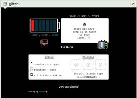 glitch | f2u custom box code by baekmii