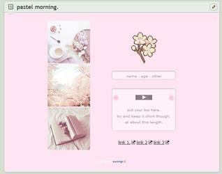 pastel morning // f2u custom box code