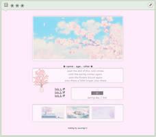 spring day \\ f2u custom box code by baekmii