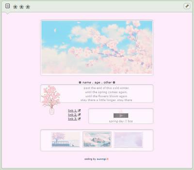 spring day \\ f2u custom box code