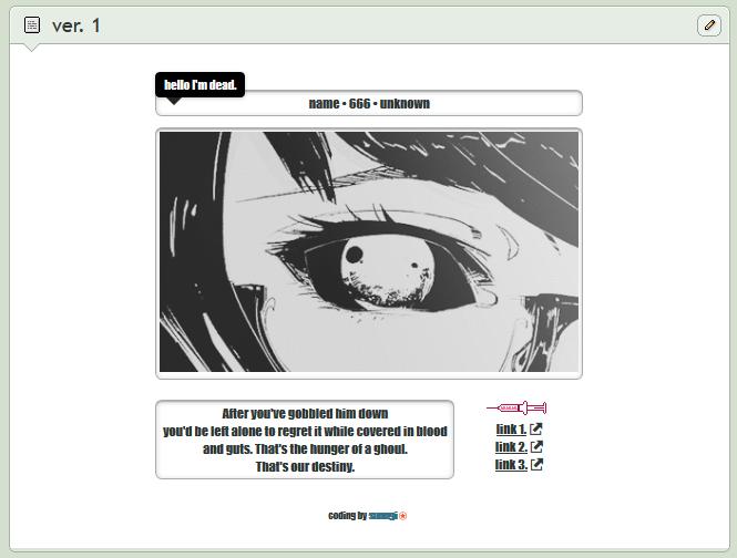 ghoul | core custom box code | ver. 1 | 10 points by baekmii