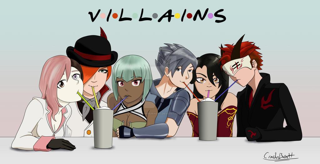 RWBY: Friends (Villains edition) by crashnburnett