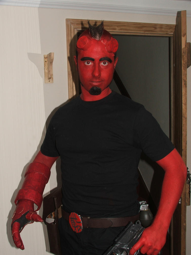 hellboy costume by mandalshark