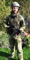 Rebel Commando Costume WiP