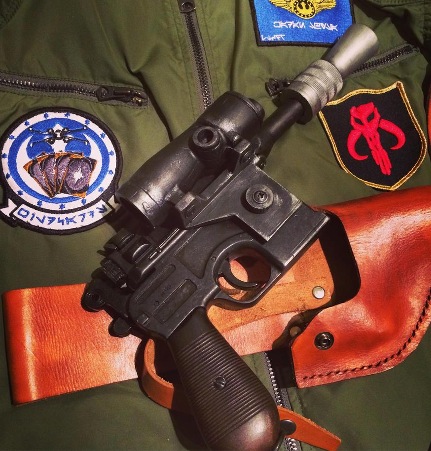 DL-44 blaster prop. by MandalShArK