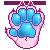 StarryTiger Paw by ProxyPixel