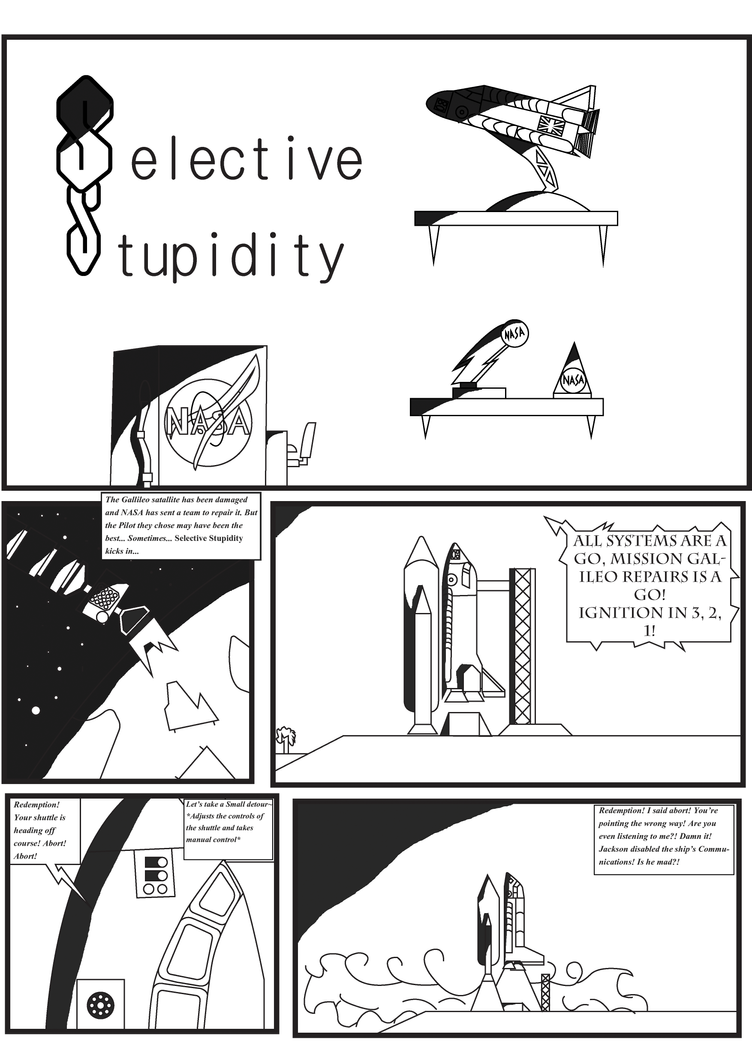 Selective Stupidity: Page 1/3 by NyinxDeLune