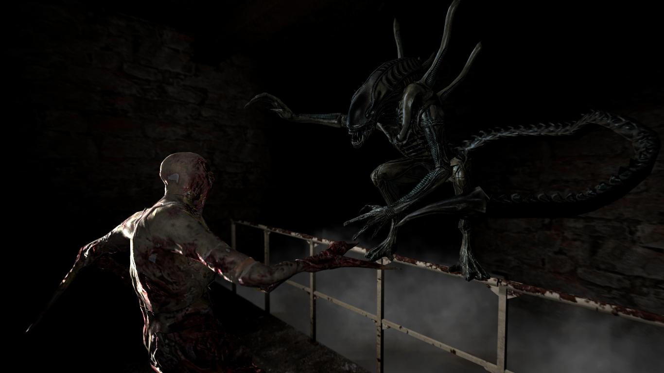 xenomorph vs necromorph -#main