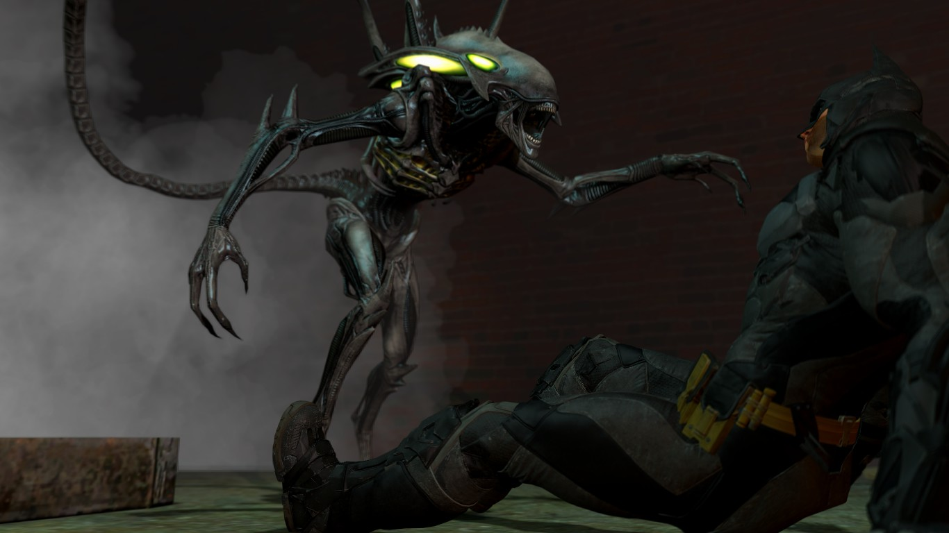 xenomorph vs necromorph - photo #6