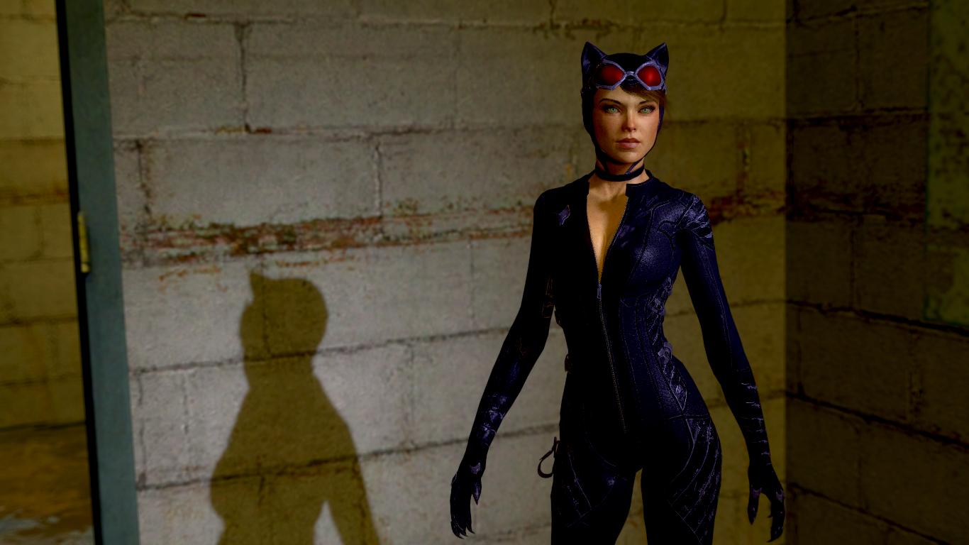 Arkham Knight Catwoman By Guitarmatt89