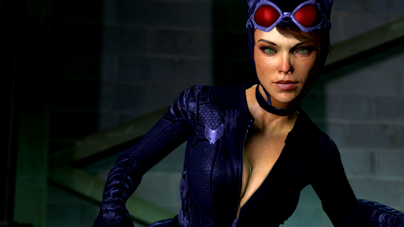 Arkham Knight Catwoman Closeup 2 By Guitarmatt89