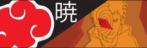 Akatsuki Banner - Obito/Tobi