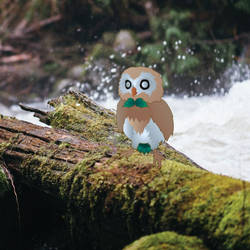 Rowlet by PluivantLaChance