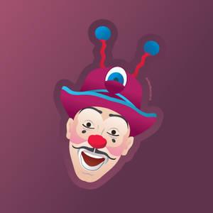 Ringling Bros and B+B Circus Clown - Victor