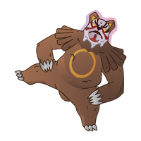 Ursaring Uses Scary Face